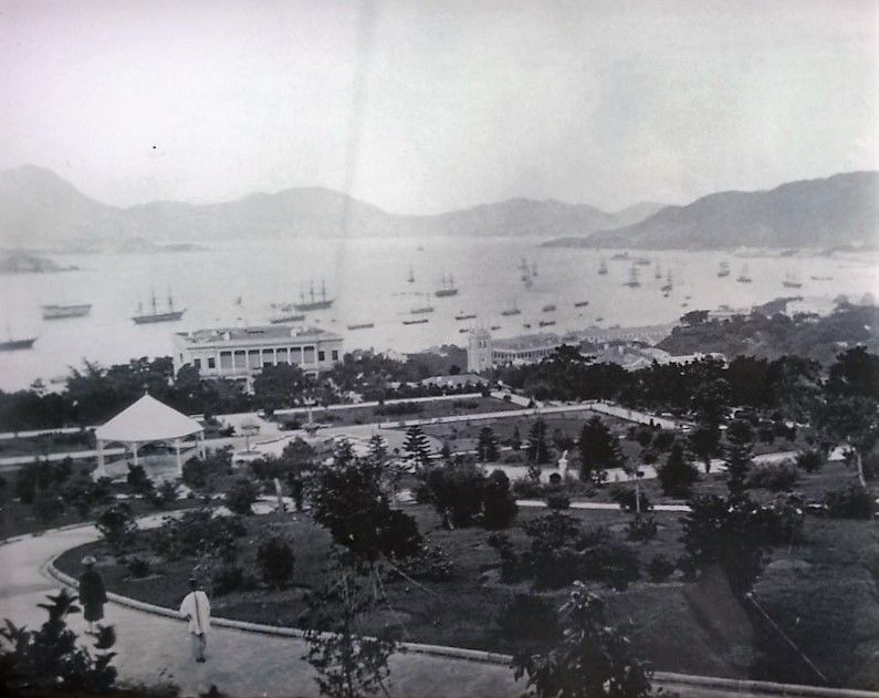 hong kong in 1870