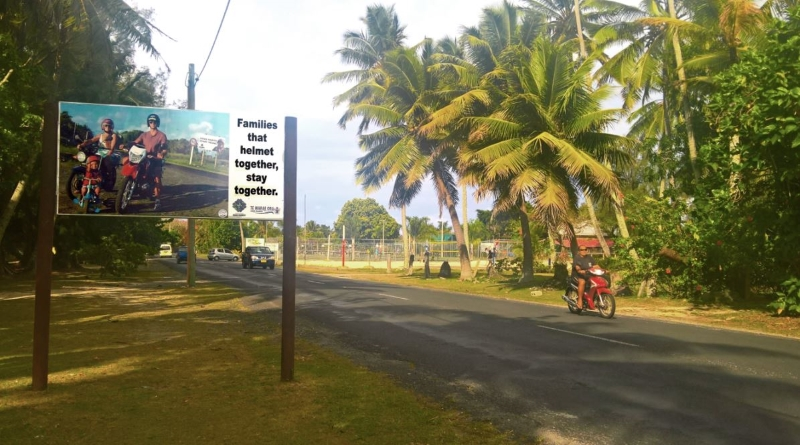 cook islands road safety message