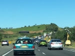 hume highway traffic jam